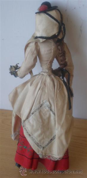 Muñeca española clasica: MUÑECA REGIONAL .. Cuerpo rígido de trapo - Foto 2 - 15907892