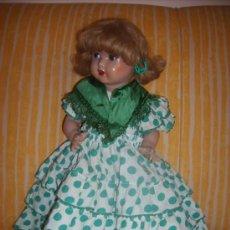 Muñeca española clasica: VESTIDO DE FLAMENCA SEVILLANA MARIQUITA PEREZ. Lote 27388216