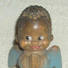 Muñeca española clasica: ANGELITO NEGRO CON SONIDO,PAYTO,AÑOS 60. Lote 27483298
