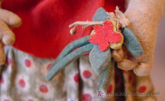 Muñeca española clasica: ARTESANAL MUÑECA, FIELTRO Y PAJA, MEDIDAS: 35 cm - Foto 6 - 18446039