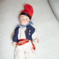 Muñeca española clasica: PRECIOSO MUÑECO DE CELULOIDE VESTIDO DE PAYÉS CATALÁN. Lote 26266578