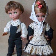 Klassische spanische Puppen - MARAVILLOSA PAREJA DE CHULAPOS, LINDA PIRULA, UNICOS - 21343163