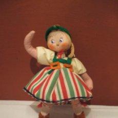 Muñeca española clasica: MUÑECA DE TELA . Lote 26036329