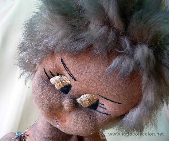 Muñeca española clasica: GRACIOSA MUÑECA DE PAÑO, TRAPO, NEGRA, DESCONOZCO FABRICANTE, 50 CM - Foto 2 - 27360909