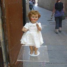 Muñeca española clasica: MUÑECA ESPAÑOLA CAMINADORA DE 1950 ,MEDIDAS 42 CM. Lote 26900324