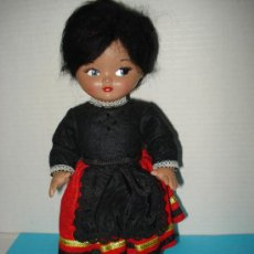 Muñeca española clasica: ANTIGUA MUÑECA LINDA PIRULA CON TRAJE TIPICO DE ALAVESA ,CASTELLANA , MONTAÑESA DE MUÑECAS DE ALBA . Lote 28561779