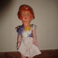 Muñeca española clasica - MUÑECA CARTON PIEDRA PEPONA AÑOS 50 - 28565321