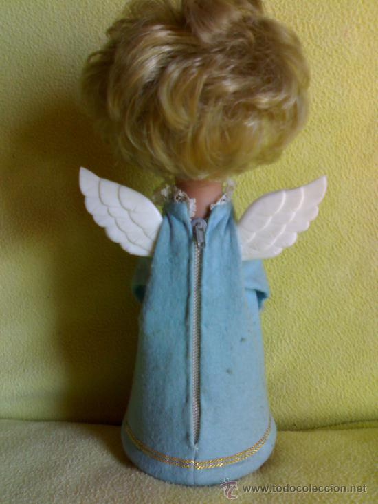 Muñeca española clasica: muñeca linda pirula,a resorte a cuerda de música y con luz difícil de encontrar en tan buen estado - Foto 2 - 28637612