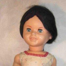 Muñeca española clasica: MUÑECA ROQUE,PELO NEGRO,FINALES DE LOS AÑOS 50. Lote 28365781