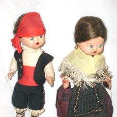 Muñeca española clasica: PAREJA MUÑECOS ANTIGUOS. Lote 29672835