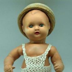 Muñeca española clasica: BEBÉ NANÍN DE DIANA CELULOIDE AÑOS 50. Lote 29680850