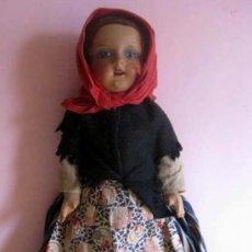 Muñeca española clasica: ANTIGUA MUÑECA ESPAÑOLA 1920- CASA PAGÉS- OJO DECORADO - ROPA DE ORIGEN.. Lote 29747831
