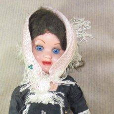 Muñeca española clasica: LORETÍN DE FAMOSA,TRAJE REGIONAL,FINALES AÑOS 50. Lote 30264874