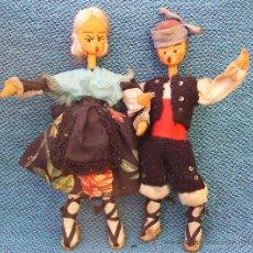 Muñeca española clasica: MUÑECOS FIELTRO TRAJE TÍPICO DE ARAGÓN. Lote 30542903