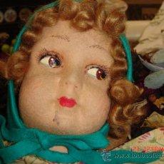 Muñeca española clasica: PRECIOSA MUÑECA PARA GUARDAR EL CAMISÓN CREO QUE ES DE LENCI, MUY ANTIGUA. Lote 32282398