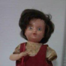 Muñeca española clasica: ANTIGUA MUÑECA DE CUERDA DE LOS AÑOS 50/60.MUÑECAS ARLEQUIN.. Lote 33339446
