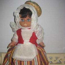 Muñeca española clasica: MUÑECA VESTIDA CON TRAJE REGIONAL DE CANARIAS - .. Lote 33536682