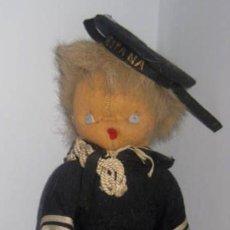 Muñeca española clasica: ANTIGUO MUÑECO CURRO DE LOS AÑOS 40 . EL PELO ES DE PIEL MUY SUAVE- LA ROPA ES DE ORIGEN,. Lote 33537138