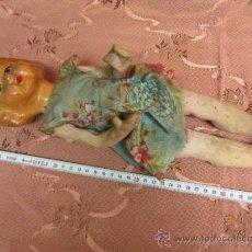 Muñeca española clasica: MUÑECA DE CARTÓN O PAPIER MACHE / PRINCIPIOS S.XX. Lote 33850117