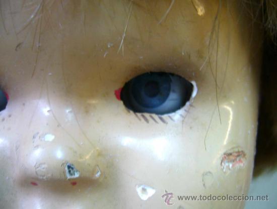 Muñeca española clasica: RARA Y HERMOSA MUÑECA, MILITINA, FABRICADA POR FLORIDO, PELO NATURAL, OJOS DE CRISTAL - Foto 12 - 36812173