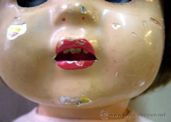 Muñeca española clasica: RARA Y HERMOSA MUÑECA, MILITINA, FABRICADA POR FLORIDO, PELO NATURAL, OJOS DE CRISTAL - Foto 11 - 36812173