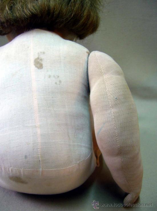 Muñeca española clasica: RARA Y HERMOSA MUÑECA, MILITINA, FABRICADA POR FLORIDO, PELO NATURAL, OJOS DE CRISTAL - Foto 8 - 36812173
