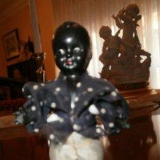 Muñeca española clasica: NEGRITO DE 9 CM ALTO. Lote 34052870