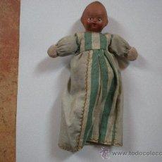 Muñeca española clasica: MUÑECO DE TERRACOTA, SOLO LA CABEZA ES DE TERRACOTA. Lote 34123224