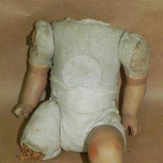 Muñeca española clasica: ANTIGUO CUERPO DE MUÑECA PARA RESTAURAR, MIDE UNOS 26 CMS.. Lote 34135334