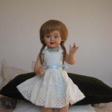 Muñeca española clasica: MUÑECA TERESÍN AÑOS 50 - INDUSTRIAS DURÁ - ORIGINAL. Lote 35617941