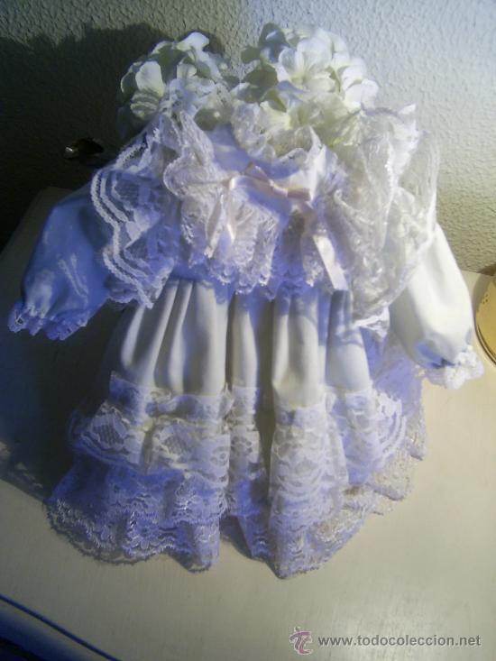 Muñeca española clasica: Vestido de Muñeca. - Foto 4 - 35834953