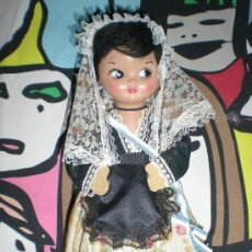 Muñeca española clasica: MUÑECA LINDA PIRULA HUCHA DE CELULOIDE NO HA SIDO JUGADA NUEVA AÑOS 60. Lote 36280679