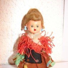 Muñeca española clasica: MINI MUÑECA DE CELULOIDE REGIONAL ASTURIANA O GALLEGA. Lote 36309221