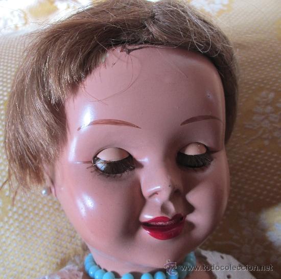 Muñeca española clasica: MUÑECA TERESIN fabricada por E. Dura A, Onil, años 50. - Foto 5 - 36662663