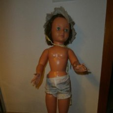 Muñeca española clasica: ANTIGUA MUÑECA DE 90 CM, ANDADORA, OJOS IRIS MARGARITA, MECANISMO MADERA, 111-1. Lote 36851391