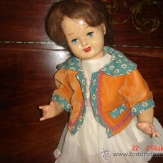 Muñeca española clasica: CHAQUETITA TACTO TERCIOPELO, MANGA 3/4, MUY BONITA Y CONSERVADA PARA: CHELITO/CAYETANA/MARIQUITA. Lote 36869854