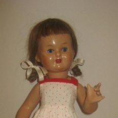 Muñeca española clasica: FANTASTICA MARY CRIS DE FINALES DE LOS 40 - CREADA EN MUÑECAS FLORIDO. Lote 37133561