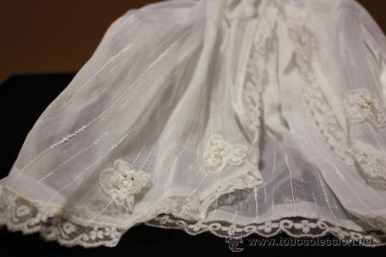 Muñeca española clasica: Muñeco celuloide antiguo Querubin con ropa de acristianar.Marca JC-SA años 50-60 - Foto 3 - 37556442