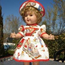 Muñeca española clasica: VESTIDO & GORRO. Lote 38087675