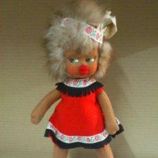 Muñeca española clasica: MUÑECA DE FIELTRO, INDIA, AÑOS 50.. 33 CM... Lote 38173555