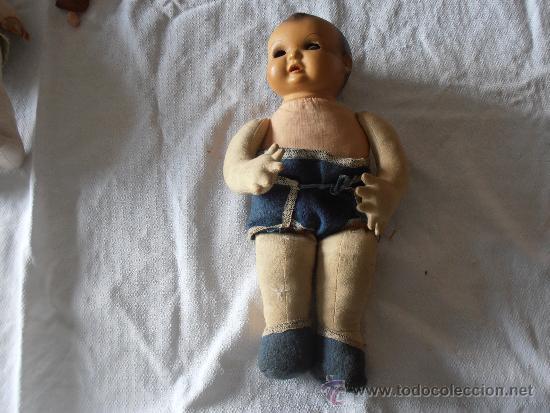 Muñeca española clasica: BEBE MUY ANTIGUO - Foto 2 - 38789047