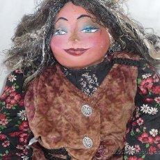 Muñeca española clasica: MUÑECA ANTIGUA,ASIATICA?. Lote 38832910