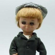 Muñeca española clasica: LINDO PIRULO CHULAPO MADRILEÑO MADRID MUÑECA AÑOS 50. Lote 38975460
