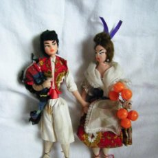 Muñeca española clasica: LAYNA - MUÑECOS ANTIGUOS - TELA -TRAPO - FIELTRO - 24 CM. Lote 39148000