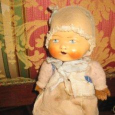 Muñeca española clasica: MUÑEQUITO CON CABEZA EN CARTÓN PIEDRA Y CUERPO DE TRAPO. SIRVE COMO COMPLEMENTO DE MARIQUITA PÉREZ G. Lote 39581677