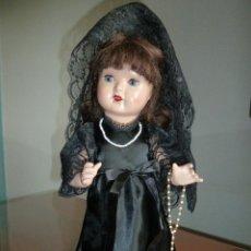 Muñeca española clasica: VESTIDO DE MANTILLA PARA MARIQUITA PEREZ. Lote 39713461