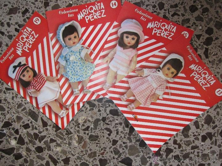 4 FASCICULOS DE MARIQUITA PÉREZ MINI (Juguetes - Reproducciones Vestidos y Accesorios Muñeca Española Clásica)