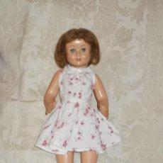 Muñeca española clasica: MUÑECA AÑOS 50 DESCONOZCO MARCA. Lote 39991132