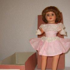 Muñeca española clasica: MUÑECA KELLY DE MUÑECAS LLORENS (ONIL ALICANTE) CON CAJA - COLECCIONISTAS. Lote 40043038