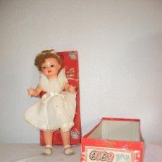 Muñeca española clasica: PRECIOSA MUÑECA MODELO CUCA DE MUÑECAS DIANA - AÑOS 50 CON CAJA ORIGINAL - COLECCIONISTAS. Lote 40043212